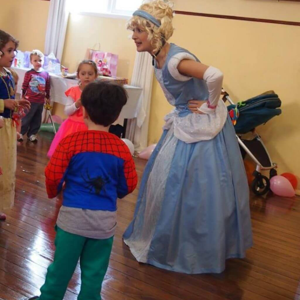 Cinderella with children