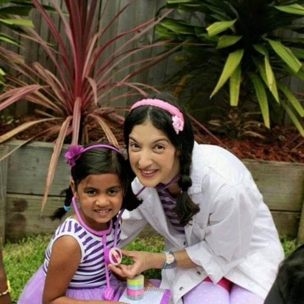 Doc McScuffins with child