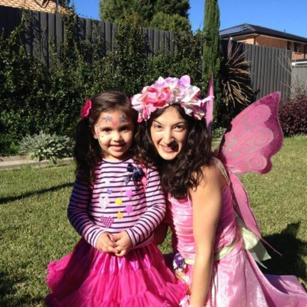 Pink Fairy with child