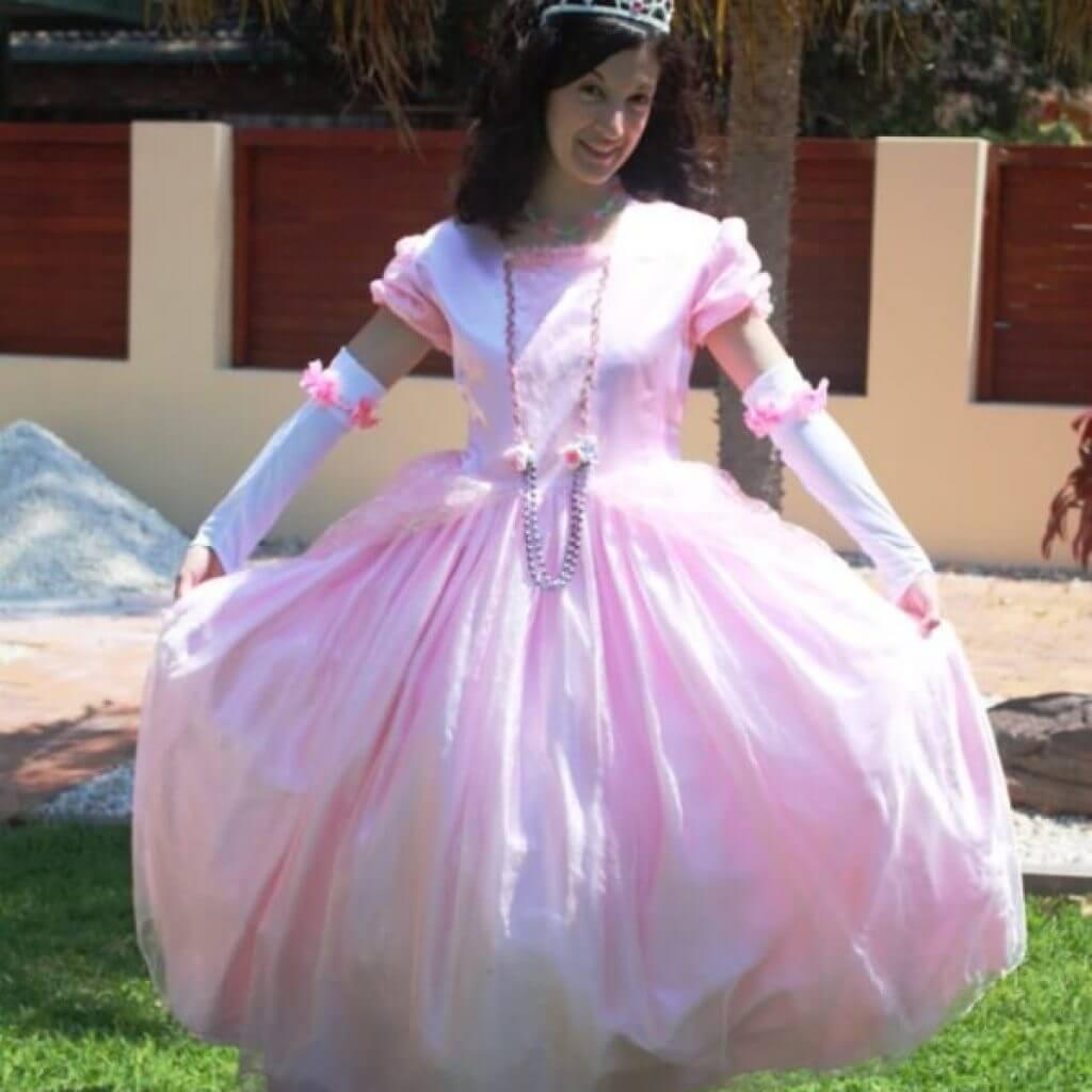 Pink Princess Posing