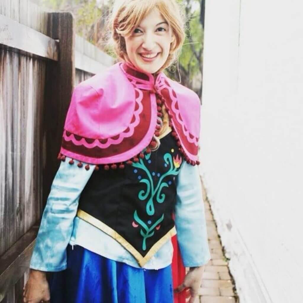 Princess Anna posing