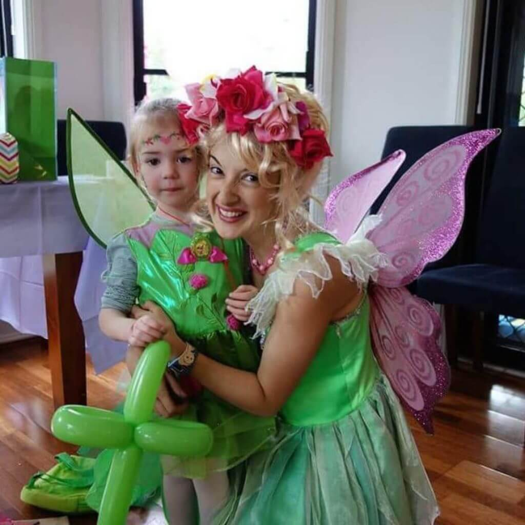 Tinkerbell from the front