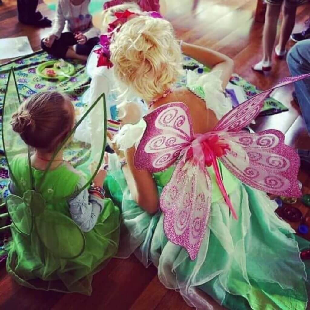 Tinkerbell from the back