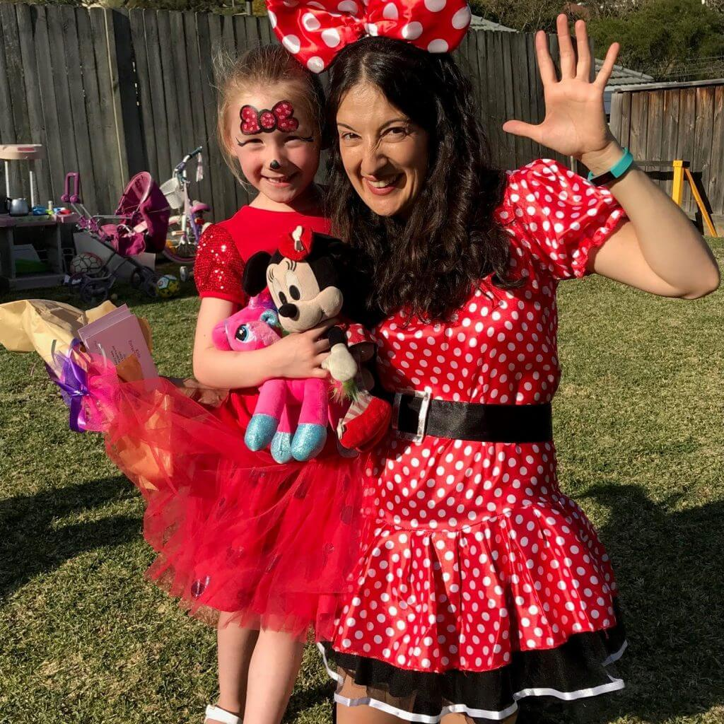 Minnie Mouse Characher